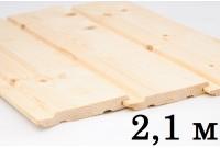 Евровагонка сосна (Сорт А) 2,1 м