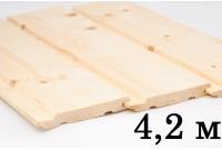 Евровагонка сосна (Сорт А) 4,2 м